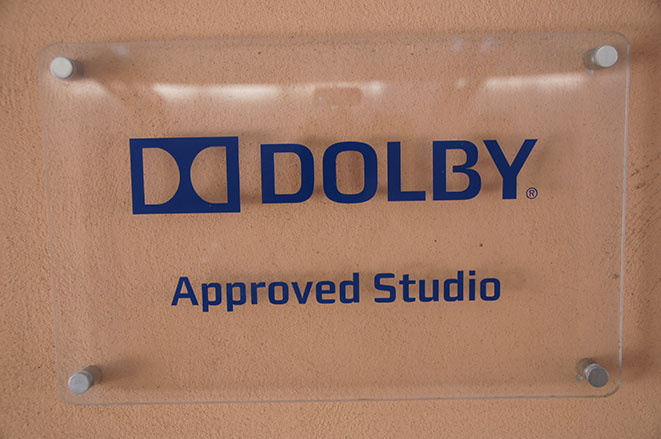 dolby approved studio